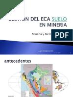 Gestion Del Eca Suelo en Mineria