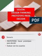 SESION PROTOTIPO DECIDIR