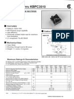 Data Sheet kbpc3510
