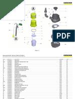 Sp 7 Submersible Pump Karcher Spare Parts