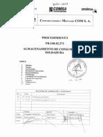 Pr-ob-02.273_01 Procedimiento Almacenamiento de Consumibles de Soldadura