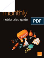 Orange Pay Monthly March 2017