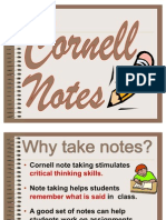 Cornell Notes Powerpoint