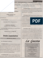 La Gaceta 1-8-2013 - Ley Promocion Generacion Con Recursos Renovables