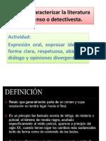 Ppt Literatura de Suspenso o Detectivesca- Ejemplos