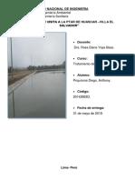 Informe de Visita Tecnica Ptar Huascar