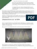 Aprenda a Fazer Um Cálculo Luminotécnico Rápido e Simplificado!