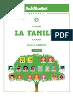La Familia - Rockalingua Worksheet