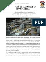 El Futuro Al Alcance de Manufactura