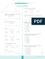 MAT2P_U5_Ficha Nivel Cero Ecuaciones e Inecuaciones Cuadráticas