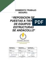 Pts - Reposicion Pat Se Andacollo