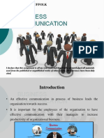 Business Communication Power Point