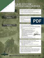 SPEAR Combat Application Courses