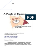 A Puzzle of Squares