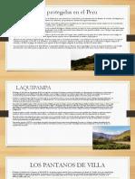 Áreas Naturales Protegidas en El Peru