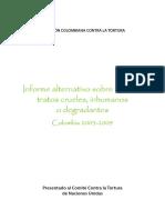 Informe Alterno Sobre Tortura 2003 2009