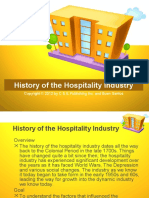 History of Lodging Industry