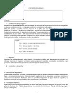 Plan Finalidad Secundaria Fines Modelo General