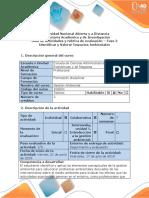 Guía y Rubrica de Evaluación - Fase 2 - Identificar y Valorar Impactos