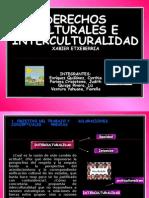 DERECHOS CULTURALES E INTERCULTURALIDAD