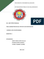 Instituto Superior Tecnológico Público de Challhuahuacho