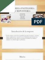 Empresa Pasteleria y Reposteria