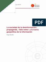 DT8 2019 Badillo Sociedad de Desinformacion Propaganda Fake News y Nueva Geopolitica de Informacion