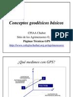 Conceptos Geodesicos