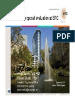 Bunikis Sagias Bulgaria ERC Evaluations