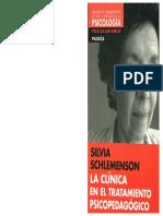 La Clínica en El Tratamiento Psicopedagógico Schlemenson
