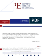 Instituciones Instituto Peruano de Economia