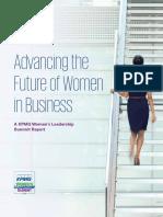 Kpmg Womens Leadership Summit Report