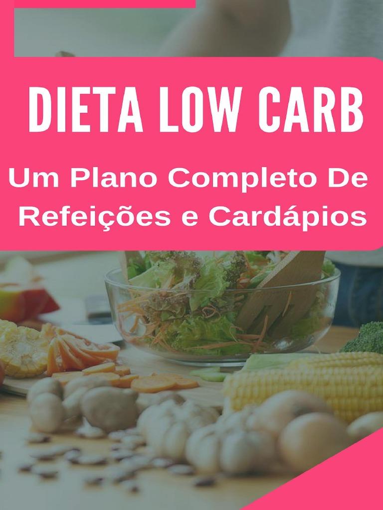 dieta low carb plano)