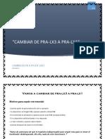Cambiar de Pra-lx1 a Pra-lx3 PDF