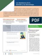 7.3 P Desbalances de La Atencion y Sus Desventajas Comunicacion