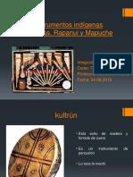 Instrumentos Indigenas[Aymaras, Rapanui y Mapuche