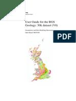 User Guide BGS Geology 50 V8