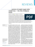 Mechanisms of Weight Regain After Weight Loss - The Role of Adipose Tissue