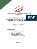 CONTROL LABORAL- DERECHO LABORAL