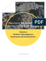 Cálculo de Reatores Catalíticos Gás-sólido - Volume 1 – cinética e fenômenos de transferência