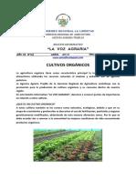 La Voz Agraria n 2 Cultivos Organicos