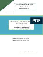 Ensayo Practica Docente Anael Ruiz
