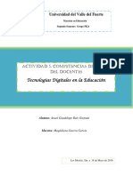 Actividad 5. Competencias Digitales Del Docente
