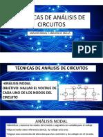 Tecnicas de AnÁlisis de Circuitos