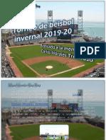 Miguel Alexander Pérez Pérez - Torneo de béisbol invernal 2019-20