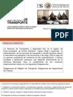 Gerencia de Transportes- Vargas Villafuerte Julio Cesar
