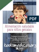 Alimentación saludable para niños geniales - Griselda Herrero Martín