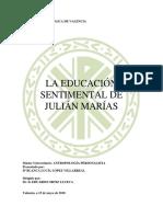 LuciaLopez 16 17 Educacion Sentimental Julian Marias