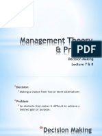 Lecture 4 Decision Making Process (1)