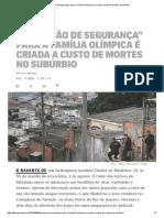 2016 08 08 TheIntercept Sensacao de Segurança Para Olimp Criada a Custo de Mortes
